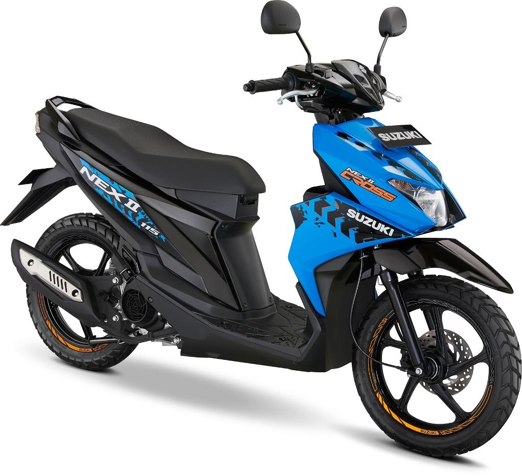 Spesifikasi dan Harga Suzuki NEX II Cross