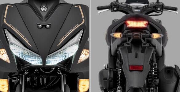 Spesifikasi dan Harga Yamaha Aerox 155 VVA