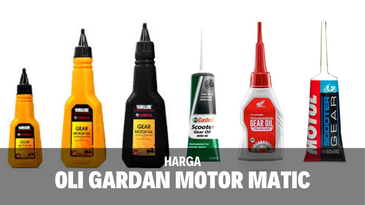 6 Rekomendasi Beserta Harga Oli Gardan Motor Matic
