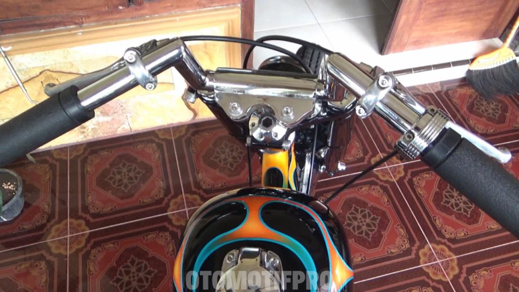 Modifikasi Scorpio Chopper