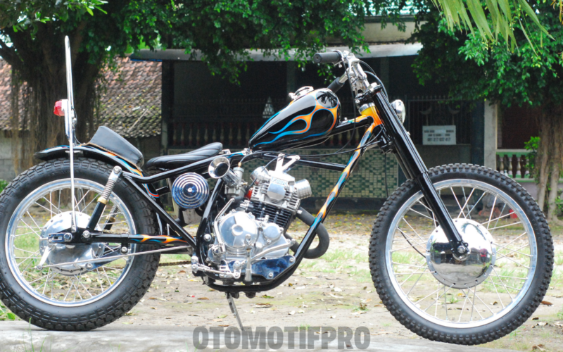 Modifikasi Scorpio Chopper